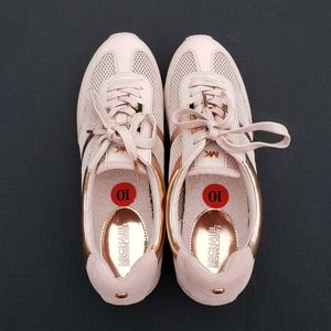 Michael Kors Maggie Trainer Mesh Shoes Pink